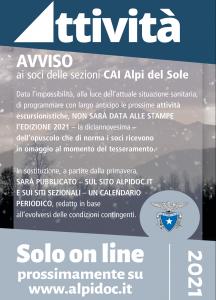 Opuscolo Attività Alpi del Sole