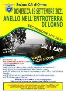 Escursione LPV a Loano